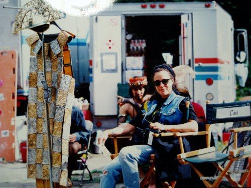 """Trilby, costumer on set of """"Highlander"""""""